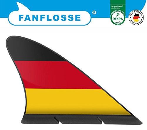 Die Fanflosse - das Original, Deutschland Flagge Deutschland Fanartikel EM ~~~~~ schneller Versand innerhalb 24 Stunden ~~~~~