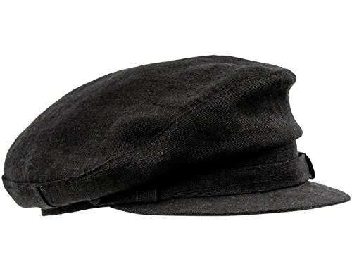 ab4f106fdf76e Sterkowski estiva in lino Maciejowka Breton Cap Black small