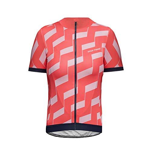 Uglyfrog Maglia da Uomo a Maniche Corte per Ciclismo Maglia da Corsa Abbigliamento Casual DXMX02F