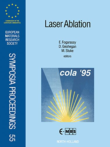 Laser Ablation: Proceedings of Symposium F: Third International Conference on Laser Ablation - Cola '95 of the 1995 E-Mrs Spring Conference, Strasbourg, ... Research Society Symposia Proceedings) (Laser-ablation)