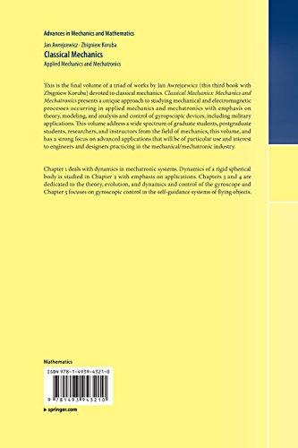 Classical Mechanics: Applied Mechanics and Mechatronics (Advances in Mechanics and Mathematics)