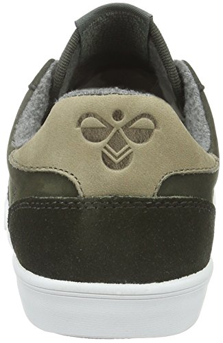 Hummel Slimmer Stadil Duo Oiled Low, Baskets Basses Mixte Adulte Gris (Beluga)