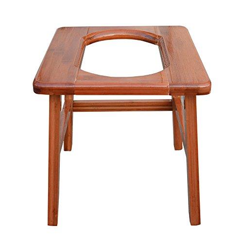 Hochstuhl Seniorenstuhl/Schwangere Frauen Sessel/mobiler Toilettenstuhl/Badstuhl / behinderten Patienten WC-Stuhl/runde Mund Hocker (Größe optional) (größe : 2#)