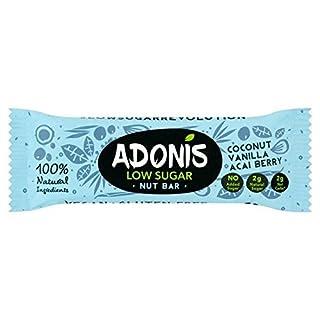 Adonis Natural Low Sugar Vanilla Bar 35g