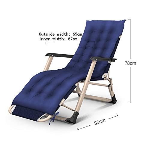 XQY Fauteuil de fitness, chaises longues pliantes pour banquettes-banquettes - Installation gratuite et portable 3 chaises pliantes/Lits doubles/Lits simples/Lits paresseux pour le bureau // Li
