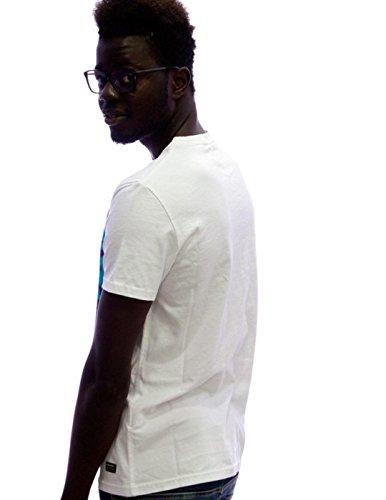Camo Superdry Stadt BBrand T- Shirt Weiss Weiß