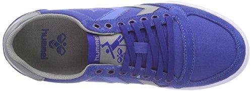 hummel SL STADIL CANVAS Unisex-Erwachsene Sneakers Blau (Limoges Blue 8543)