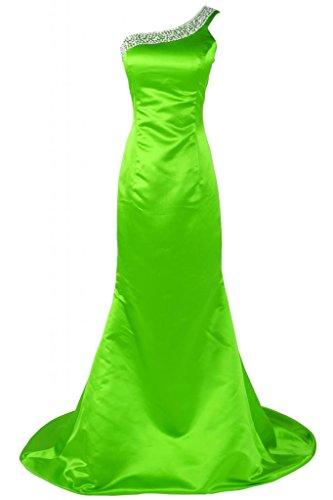 Sunvary Chic Una spalla raso abito da sera, abiti da sera Pageant-Gowns Verde chiaro