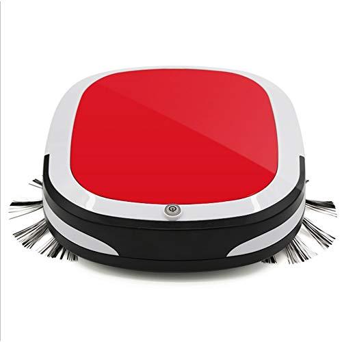 Aspirador Robot de barrido, ultrafino, barrido y barrido, robot de barrido inteligente hogareño (rosso)