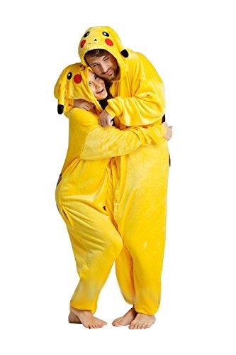 Carnaval-de-Halloween-traje-de-los-pijamas-de-Pokemon-Pikachu-adultos