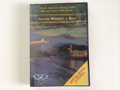 North American Fishing Club Fishing Success DVD Series - Success Without A Boat DVD