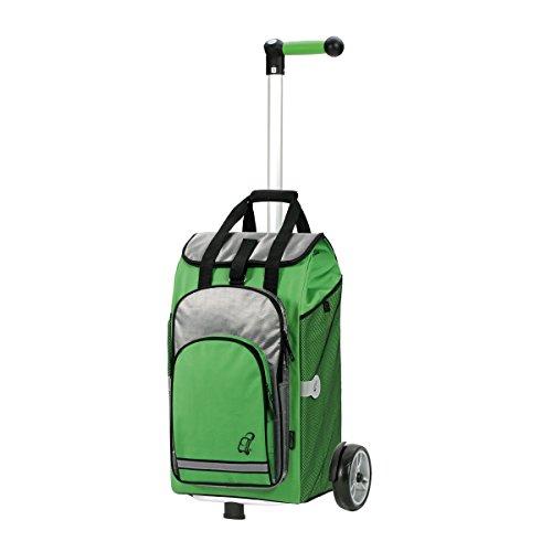 Andersen Unus Shopper Hydro Alu Thermofach Einkaufstrolley (Grün)