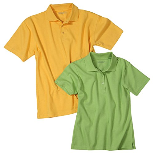 JAMES & NICHOLSON Polohemd aus hochfunktionellem CoolDry® gold-yellow