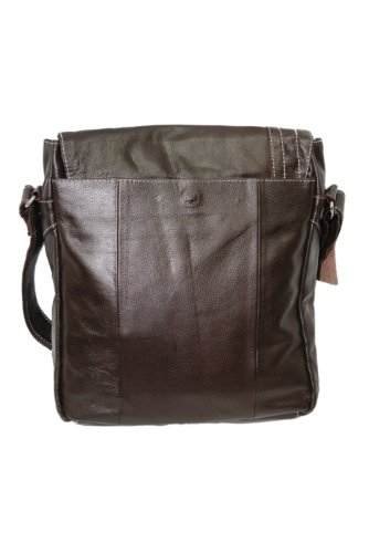 Smart Range , Borsa Messenger Marrone