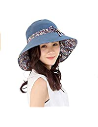 Sombrero para El Sol Verano para De Sombrero Mujer Modernas Casual Sombrero  De Protección Solar Sombrero cc699854bf5d