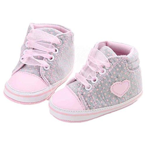 7700b8aa8 Hiroo Niños Niños pequeños Bebés Bebés Niñas Zapatilla de deporte del  zapato de lona Zapatos de