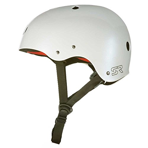 41K45nXY6xL. SS500  - Shred Ready Sesh Kayaking/ Watersports Helmet Pearl White