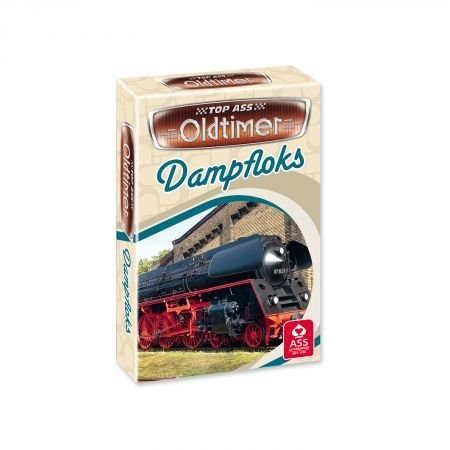 TOP Ass® Oldtimer Quartett Dampfloks
