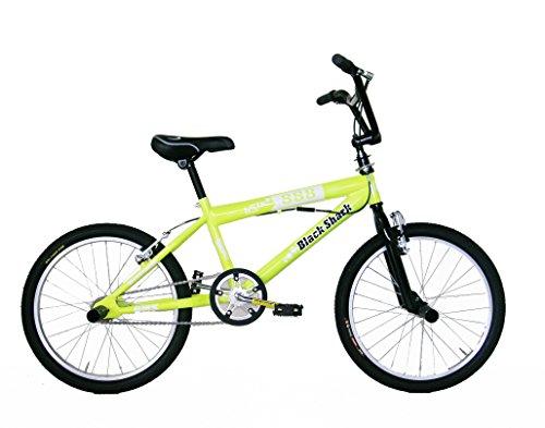 FREJUS DBX20000B8 Vélo BMX Mixte Enfant, Jaune, Taille : 20 Pouces