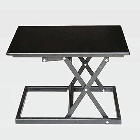 GAOLILI Standing Laptop Desktop Falten Computer Schreibtisch Schreibtisch Möbel können nach oben und unten Tisch stehen Station