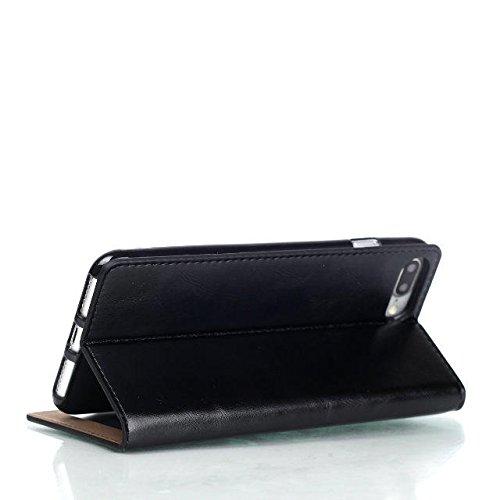 iPhone Case Cover Verrückte Pferd Textur Muster Fall magnetischen Verschluss PU-Leder Tasche Cover mit Halterung Wallet Card Slots für Apple IPhone 7 ( Color : 3 , Size : IPhone 7 ) 5