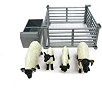 TOMY 43080–Britains Sheep with Fence and Trough