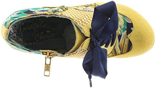 Irregular Choice Ankle Boots Blair elfglow 4262-3/Jaune Blue Jaune - Jaune-bleu