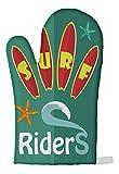 LEotiE SINCE 2004 Ofen Topf Handschuh Nostalgie Surf Riders Bedruckt