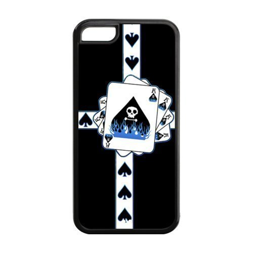 Ace Of Spades Design Case for iPhone 5C,Cover for iPhone 5C,Case Cover for iPhone 5C ,Hard Case Protector for iPhone 5C