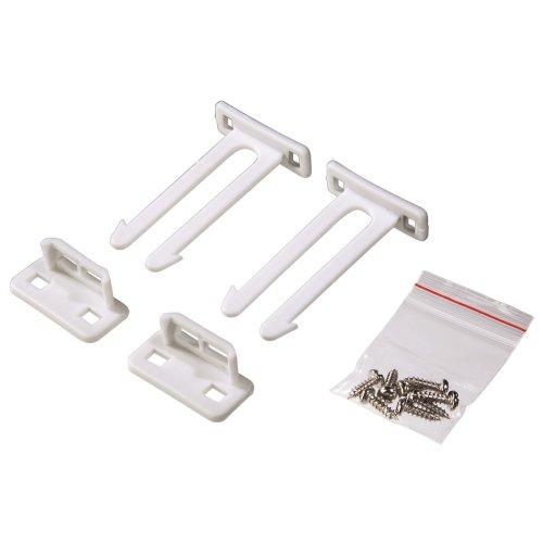 Xavax 00110860 Schubladen-/Tür-Doppelhakenverschluss