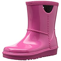 UGG Girls T Rahjee Rain Boot, Diva Pink, 6 M US Toddler