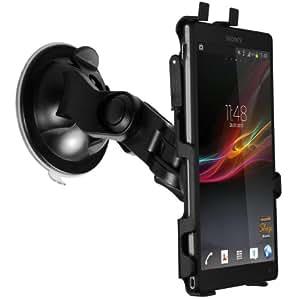 mumbi KFZ Halterung Sony Xperia ZL / Autohalterung VibrationsFREI / 90° QUERBetrieb möglich