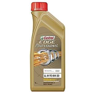 Huile de moteur Castrol Edge professionnel LL IV FE 0W-20 VW 00 508, 509 00 avec titane FST