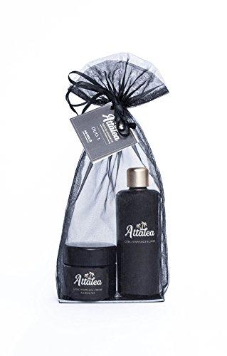 Attalea Duo 1, Gesichtspflege-Creme allround, Gesichtspflege-Elixier, für alle Hauttypen geeignet. Parfümfrei