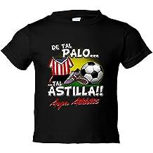 Camiseta niño De tal palo tal astilla Athletic fútbol Bilbao 823ac0de99a71