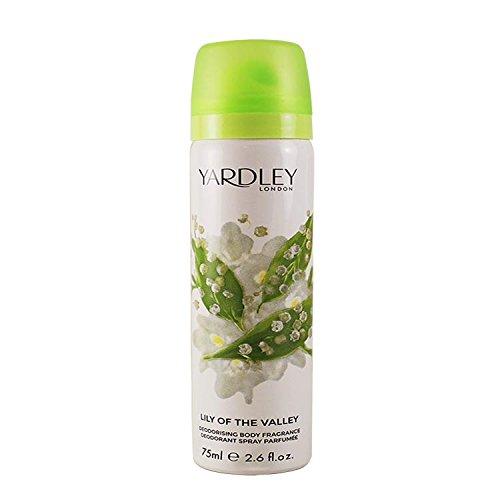 Yardley London Lily of the Valley Body Spray 75ml