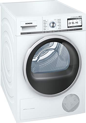 Siemens WT7YH701 Home Connect iQ800  Wärmepumpentrockner / A+++ / 8kg /  Selbstreinigungs-Automatik / autoDry-Technologie / weiß