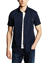 Jack & Jones Jcobean Shirt Plain S/S, Veston Homme