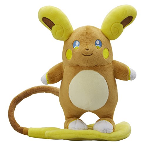 Pokemon Center Original Peluche Bambola Alola Raichu (Pokemon Sun & Moon)