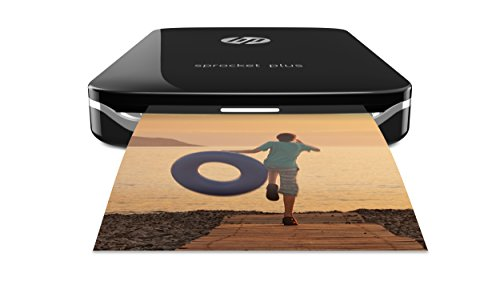 *HP Sprocket Plus Mobiler Fotodrucker – schwarz*