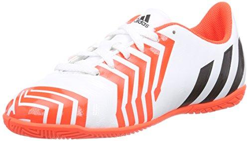 Adidas - Predito Instinct In, Scarpe Da Calcio per bambini e ragazzi bianco (ftwr white/core black/solar red)