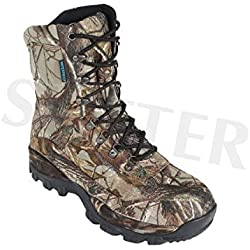 Sutter jagdschuhe/Senderismo Hombre Impermeable & Camuflaje, 44
