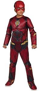 Marvel - Disfraz de Flash calidad Premium para niños, infantil 3-4 años (Rubie