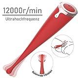 Enlove Vibrator Silikon G punkt Vibratoren für Sie Klitoris und G-punkt mit Stoßfunktion Klitoris Stimulation Extrem mit 10 modi Leise Massagegerät Massage Erotik Sexspielzeug für Frauen Paare
