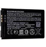Original Akku Li-Ion BV-5J 1560mAh für Microsoft Lumia 435, 435 Dual Sim, 532 und 532 Dual Sim