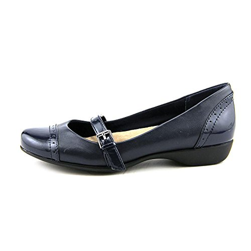Giani Bernini Aubree Large Cuir Mary Janes Midnight