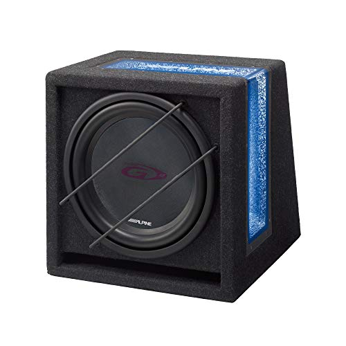 Alpine SBG-1244 Bandpass-Subwoofer (30,5 cm) (Alpine Car-audio-subwoofer)