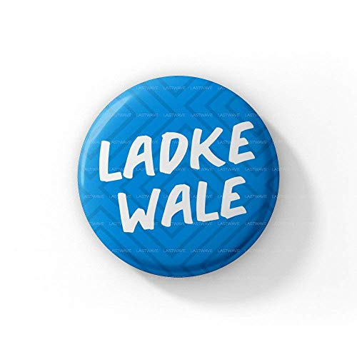 LASTWAVE Wedding Collection |Ladkewale |Pinback Badge (44 mm, Set of 15)