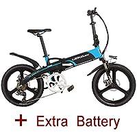LANKELEISI G660 Bicicleta eléctrica plegable de 20 pulgadas 48V / 240W 10.4Ah Batería de litio