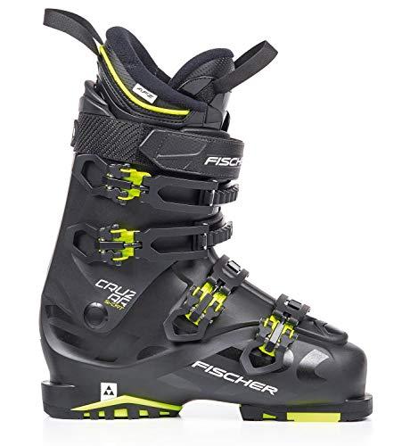 Fischer Unisex- Erwachsene Skischuhe Cruzar Sport MP26,5 EU41 1/3 Vacuum Flex 100 Skistiefel 2019, schwarz/gelb 26.5